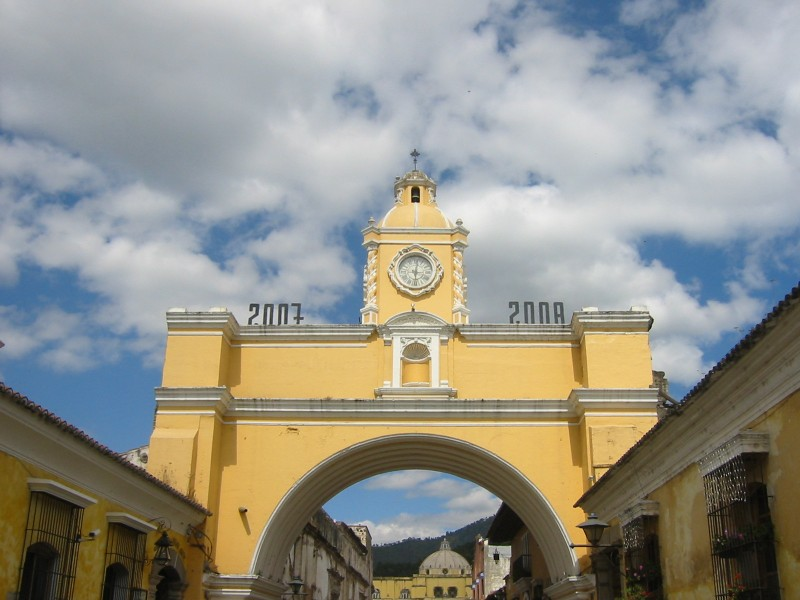Arco Santa Catalina in Antigua, Guatemala