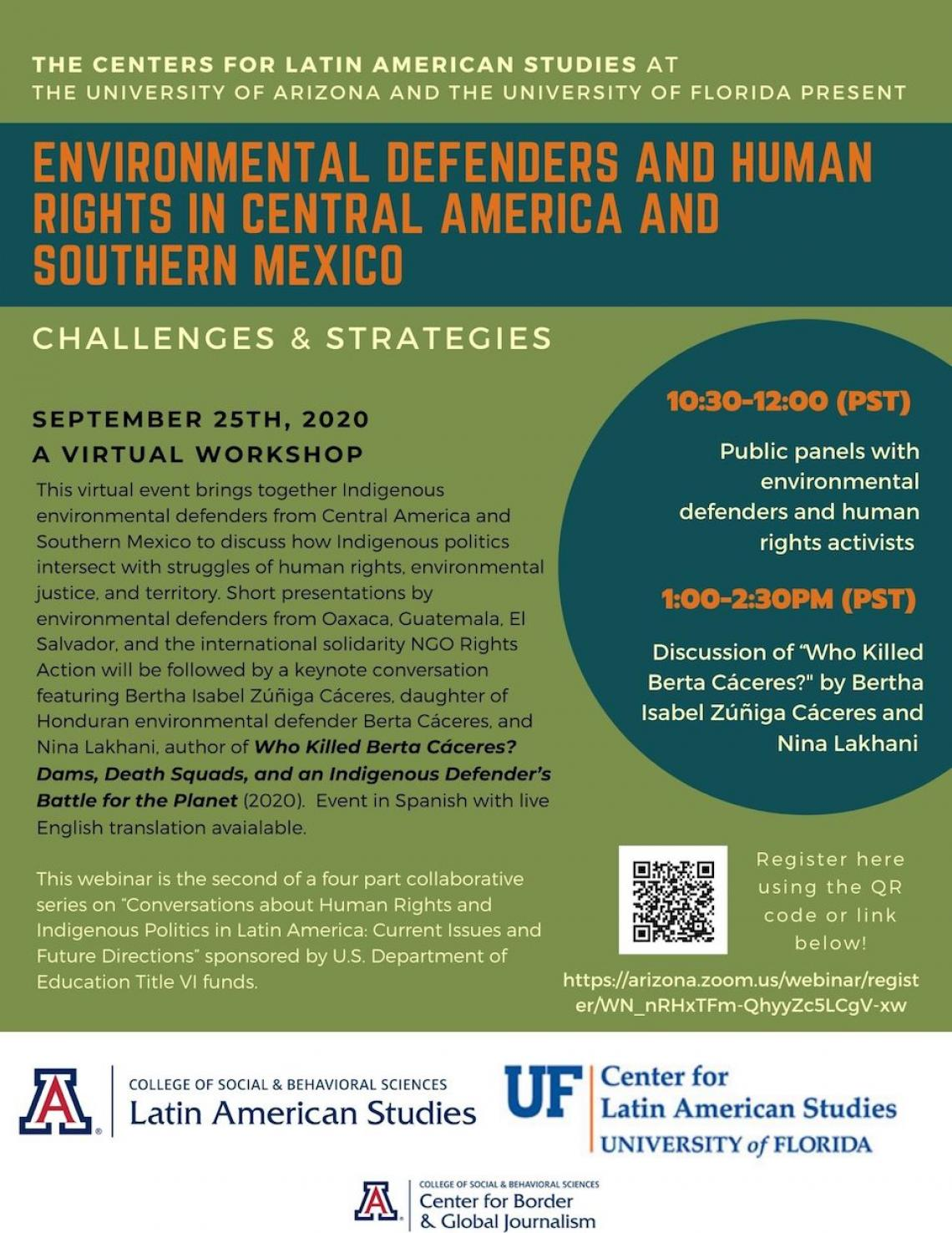 Environmental Defenders and Human Rights in Central America and Southern Mexico